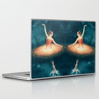 nan lawson Laptop & iPad Skins featuring Prima Ballerina Assoluta by Paula Belle Flores