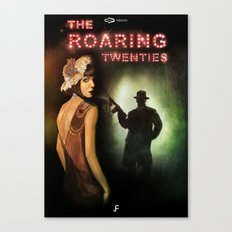 The Roaring Twenties Canvas Print