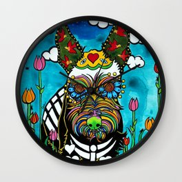 Buster the Schnauzer Wall Clock