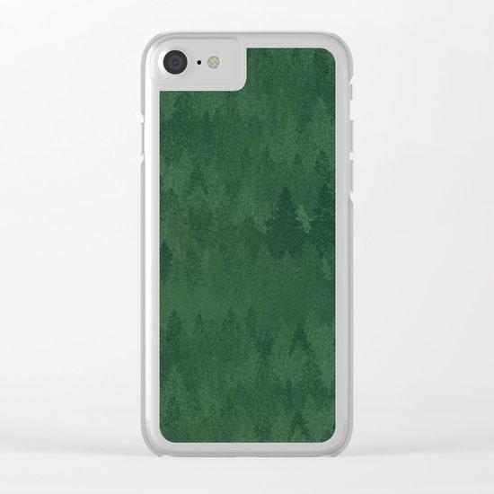 TREE L/NE Clear iPhone Case