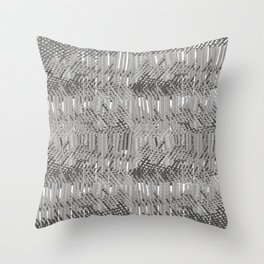 Gray abstract background Throw Pillow
