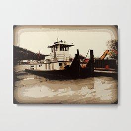 Tugboat II  Metal Print