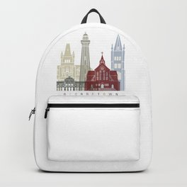 Georgetown skyline poster Backpack