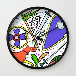 Norman Mix Wall Clock