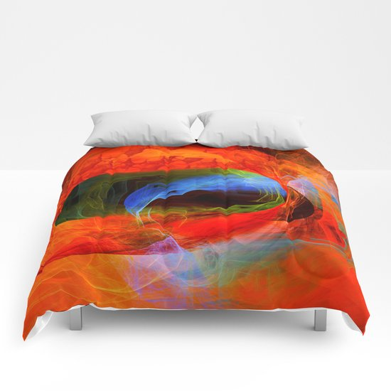Fire and smoke Comforters