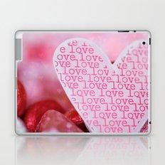 love love love Laptop & iPad Skin