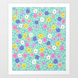 In the garden #5 Art Print