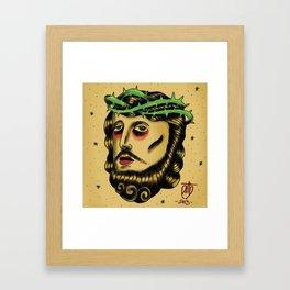 god tattoo Framed Art Print