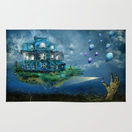 A journey with the wind Rug