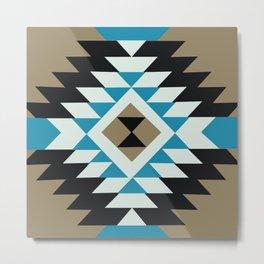 American Native Pattern No. 145 Metal Print