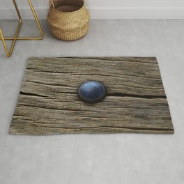 Wood and iron Rug