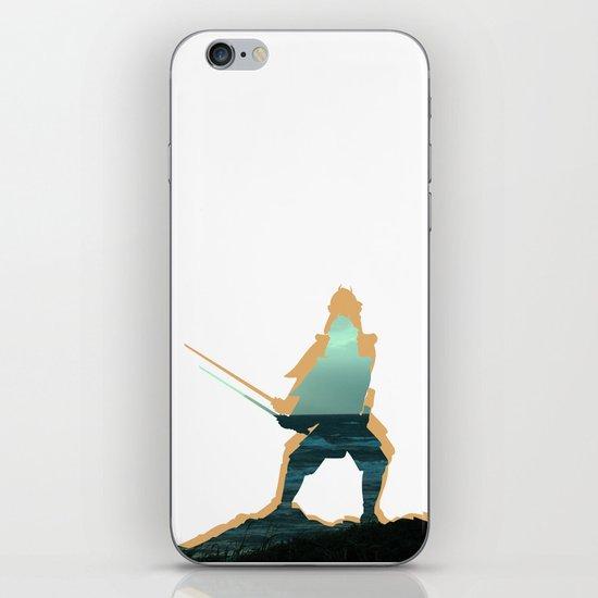 Samuraj iPhone & iPod Skin
