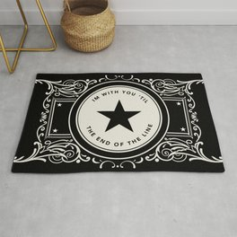 The End Of The Line Rug