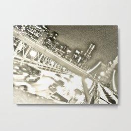 WHITEOUT : Drive Metal Print