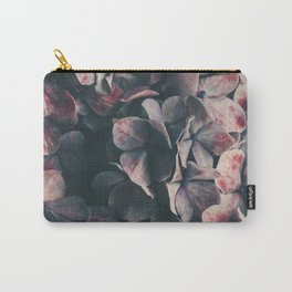 hydrangea - moody blues Carry-All Pouch
