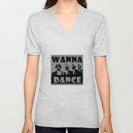 Coffin Dance Meme Wanna Dance - Dance With Us Unisex V-Neck
