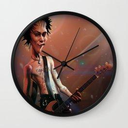 Sid Vicious Wall Clock