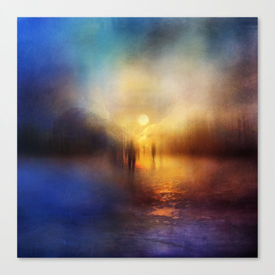 Light Echoes Canvas Print