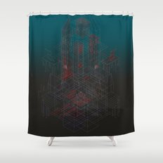 Forgotten Crypt of the Amnesiac Immortal Shower Curtain