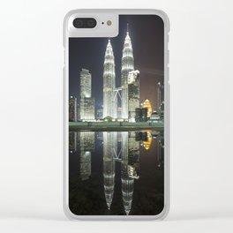 batiful city Clear iPhone Case