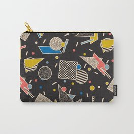 Memphis Inspired Design 8 Carry-All Pouch