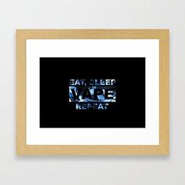 Vape On Framed Art Print