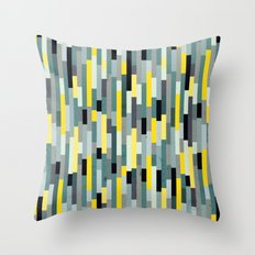 City by the Bay, Downtown Throw Pillow