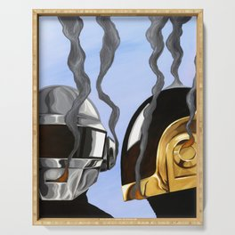 Daft Punk Deux Serving Tray