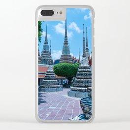 Wat Pho, Bangkok, Thailand Clear iPhone Case