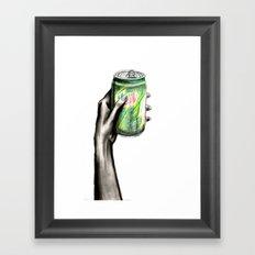 Do the Dew Framed Art Print