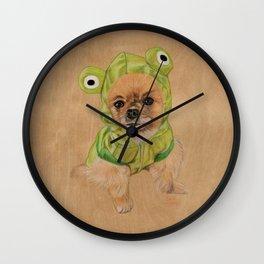 Littlle Greenie Wall Clock