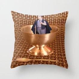 Eggsactly my dear Fellow! Throw Pillow