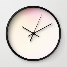 Yellow Sand (66) Wall Clock