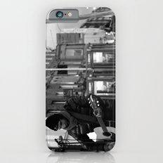 Waiting.. [Black & White] Slim Case iPhone 6s