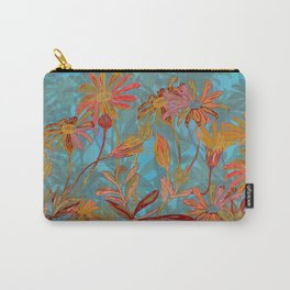 Fantasy Fall Flowers Carry-All Pouch