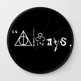 Always and For Ever Wall Clock