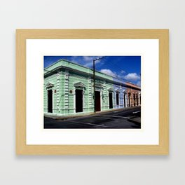 Calle 66 Framed Art Print
