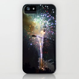 Fireworks II iPhone Case