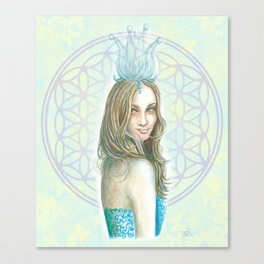 Her Invisible Crown Canvas Print