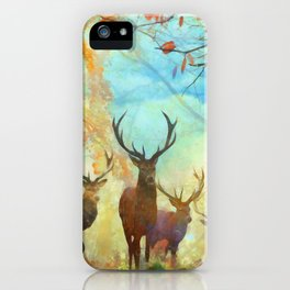 Autumn Forest Watch iPhone Case