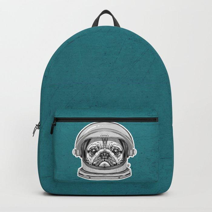Astronaut Pug Backpack