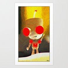 Impressions of Girr Art Print