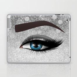 Glam diamond lashes eye #1 Laptop & iPad Skin
