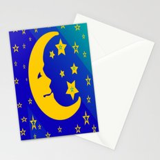 Mr. Moon Stationery Cards