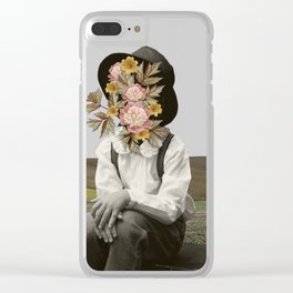 Lonely Boy Clear iPhone Case