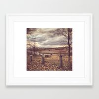 river Framed Art Prints featuring River by Anthony Londer