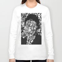 kafka Long Sleeve T-shirts featuring Kafka by Alessandra M