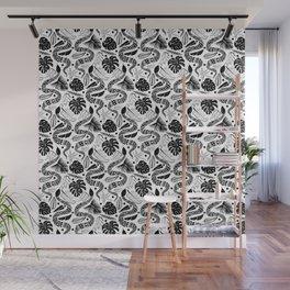 White Snakes Wall Mural