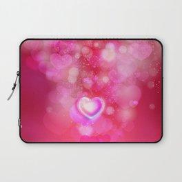 Pink heart Laptop Sleeve