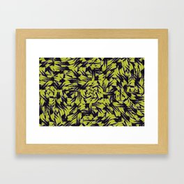 Modern Abstract Interlace Framed Art Print